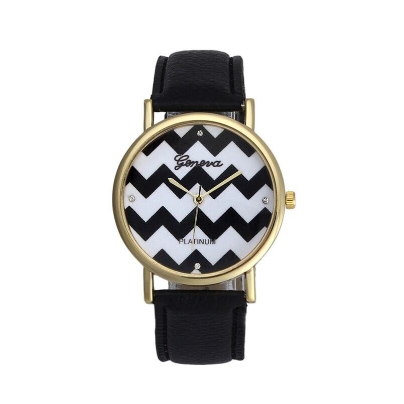 Excellent Quality Geneva Women Watches Famous Brand Female Clock Quartz Watch Ladies Quartz-watch Montre Femme Relogio Feminino