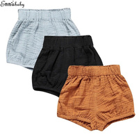 Infant Kids Baby Girls   Shorts   Toddler Bloomers   Shorts   High Waist Bottoms Clothes Loose Baby Pants 0-5T
