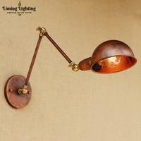 Wandlamp Retro LED Wall Lights For Home Lighting Loft Industrial Wall Lamp Vintage Appliqued Murale Long Arm Wall Light