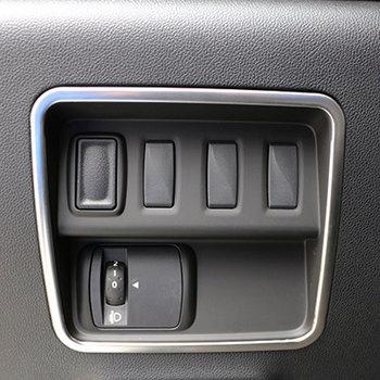 Цветной хром для автомобиля My Life, защита от выключателя фар, Накладка для Renault Koleos для Samsung QM6 LHD 2017 2018