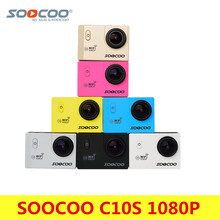 Original SOOCOO C10S Action Camera Full HD 1080p/30fps Wifi Sport DV Go 30m Waterproof Mini Cam Pro Bike Video Sports Camera