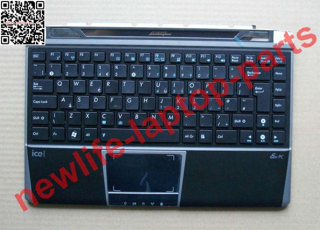 Original para asus eeepc vx6 vx6s laptop unido teclado com quadro bom teste frete grátis