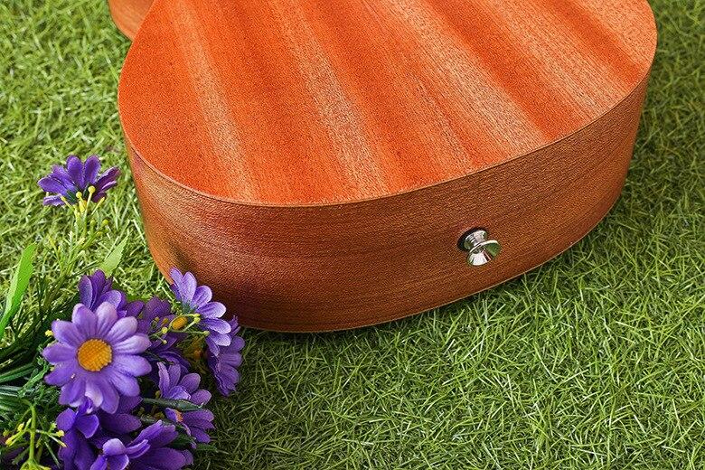 """21-7 21 \""""Ukulele Caoba guitarra Acústica Rosewood Fretboard guitarra 4-cuerdas"""