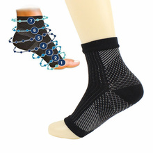 Men Sporty Compression Socks Support Socks Protect Foot Angel Sleeve Heel Arch Pain Relief Drop Shipping