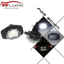 Qualidade superior livre de Erros E marca-CE certificado LED License Plate Luz para Toyota Auris Corolla Desejo Alphard Sienna urban Scion xB