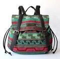 Saco stacy venda quente de marca de alta qualidade mulheres mochila impressão menina pequena mochila de viagem senhora casual estilo étnico sacos de viagem