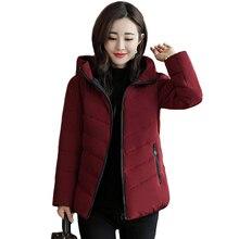 スタンド襟 2019 新冬のジャケットの女性レディースベーシックジャケットプラスサイズ 3XL 4XL ショートレディースコート生き抜く casaco