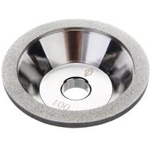 100 мм стаканчик алмазный шлифовальный круг зернистость 100-600 инструмент резак шлифовальный станок