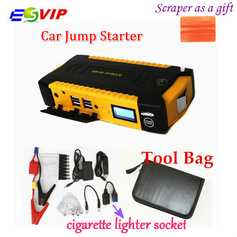 New Car jump starter battery 16000mah 12v Auto power bank for car vehicle booster power battery