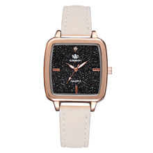Dropshipping New 2019 Hot Selling Watches Women Fashion Casual Leather  Rhinestone Watch Woman Clock Ladies Montre Femme