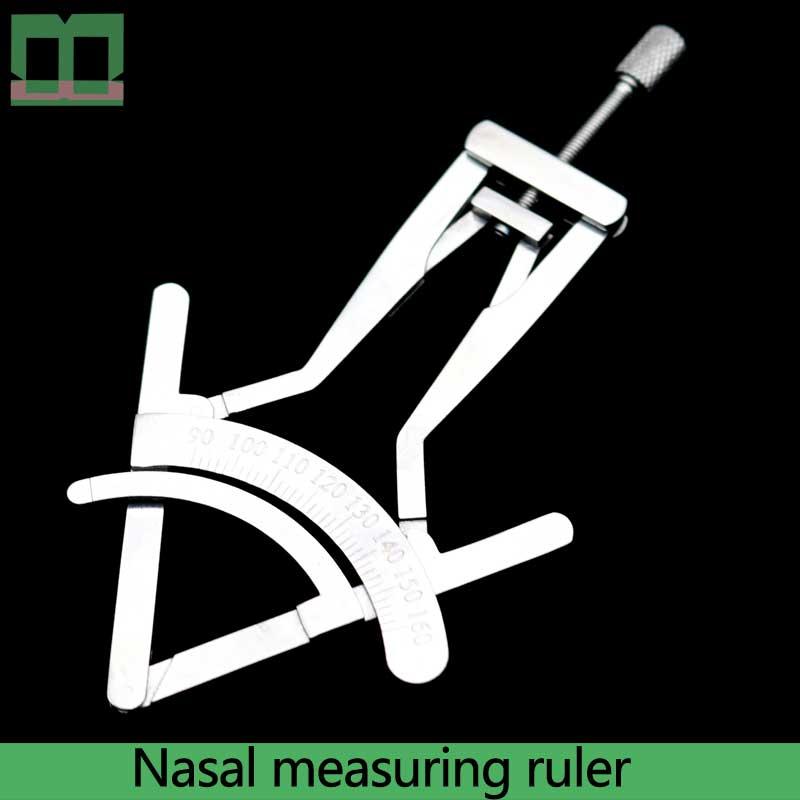 nariz liga de aco inoxidavel regua de medicao precisa de calibracao de 9 5 titanium nasal