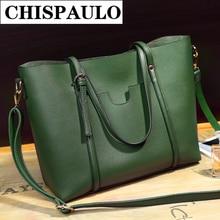 Neue 2017 hohe qualität PU handtasche damen tasche weibliche retro aktentasche grünes kreuz umhängetasche Q4