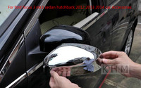 For Ford Focus 3 Mk3 Sedan Hatchback 2012 2013 2014 Car Accessories Cover Broadhurst Special Rearview Mirror Cover Car styling