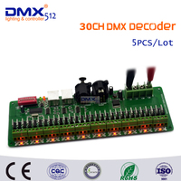 DHL Free shipping 30 channel Easy DMX LED controller;dmx decoder& driver