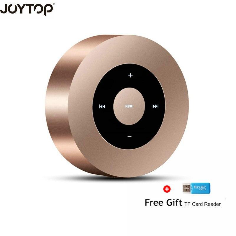 JOYTOP Bluetooth Speaker Subwoofer Bass Column Altavoz Support TFCard Handsfree AUX For Smart Phone Portable Bluetooth Speaker
