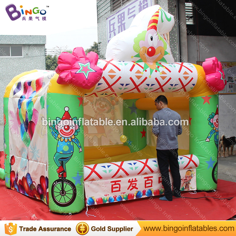 Funny Inflatable balloon dart game, carnival game booth, Archery Tag Targets 3*2.5*3m- toy funny summer inflatable water games inflatable bounce water slide with stairs and blowers