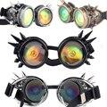 SAYFUT 2016 Nova Moda 3D Globo Ocular Lente Legal Do Vintage Óculos Steampunk Óculos de Solda Óculos De Punk Gótico Cosplay