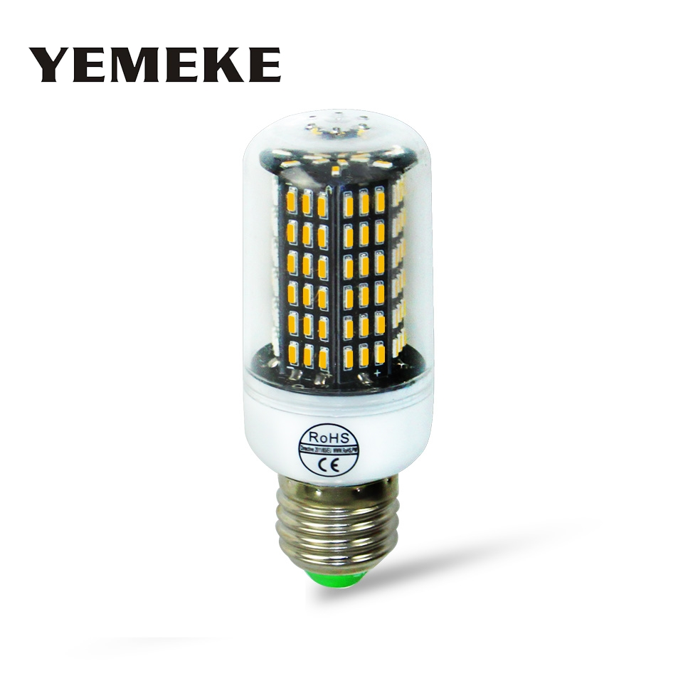 E27 E14 Led Corn Bulb 4014 Smd No Flicker Led Bulbs 220v Led Lamp Spot Light 38leds 55leds