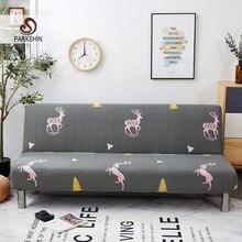Parkshin funda de sofá cama plegable de ciervo, suave, envolvente, envolvente, para sofá, toalla, sin reposabrazos