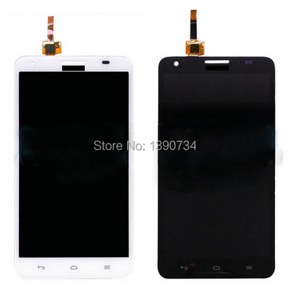 ФОТО High quality Tested work lcd display touch screen digitizer assembly for Huawei Ascend G750 Honor 3X phone panel replacement