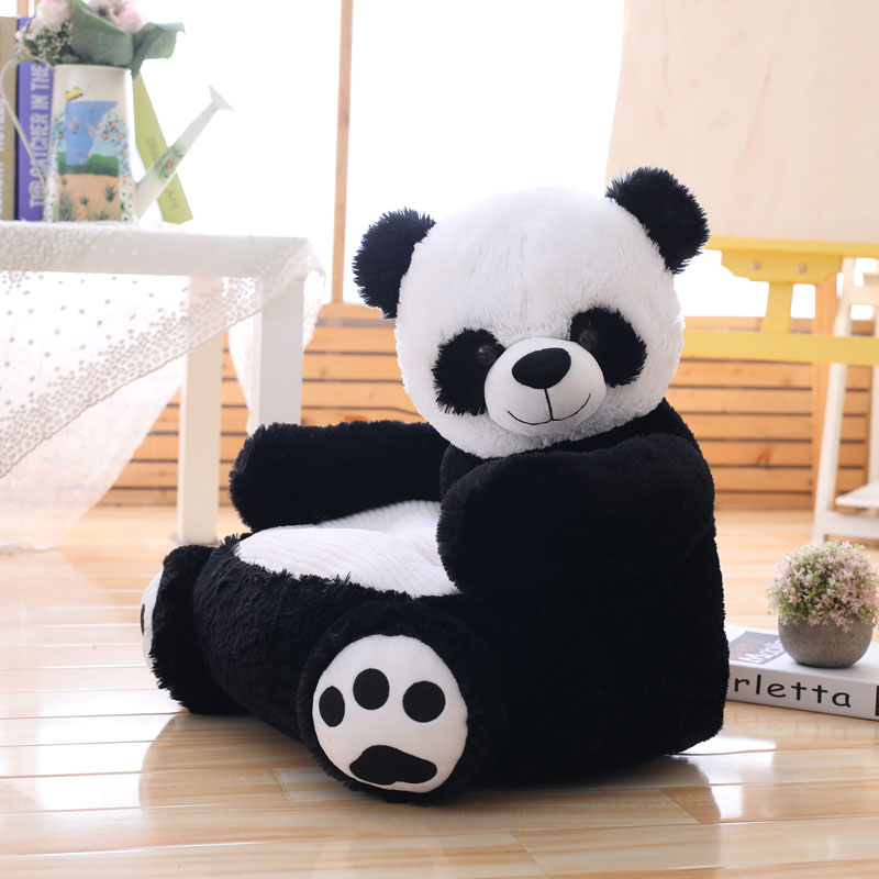 New Lovely Cartoon Kids Sofa Chair Plush Toy Seat Baby Nest Sleeping Bed Adult Pillow Cushion Stuffed Cute Teddy Bear Panda Doll-in Stuffed & Plush Animals from Toys & Hobbies    3
