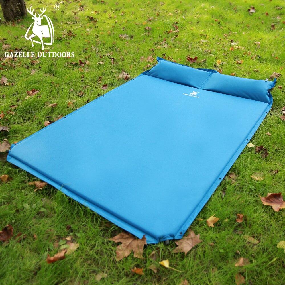 GAZELLE en plein air Camping tapis automatique gonflable tente matelas tente épissage tapis de couchage en plein air Camping pique-nique plage parc