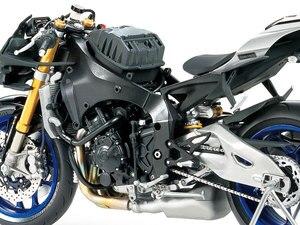 Image 3 - 1/12 skala Motorrad Montage Modell Gebäude Kits YAMAHA YZF R1M Tamiya 14133 Motorrad DIY Sammlung