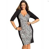 2015 Hot Sale Sexy Women Deep V Sexy Gray Dress Plus Size Party Dress W846083