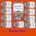 60 x Hearing Aid Batteries A312 312A ZA312 312 PR41 U