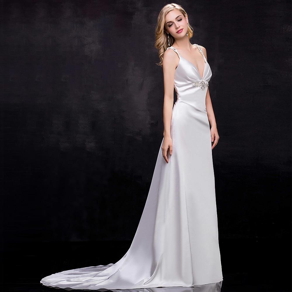 Online Get Cheap Simple White Wedding Dresses -Aliexpress.com ...