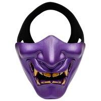 Маска на Хэллоуин вечеринку дьявол половина лица Защитная маска косплей костюм вечерние украшения