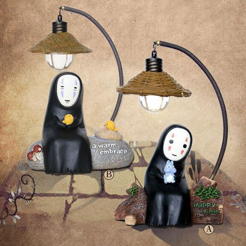 Anime No Face Man Night Light Spirited Away LED Lamp Best Gift