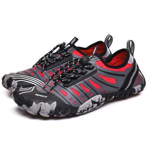 Image 3 - حذاء رجالي للشاطئ بخمس أصابع ، حذاء سباحة خارجي سريع الجفاف ، حذاء ماء للنساء ، حذاء منبع