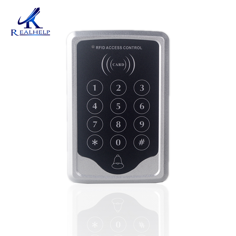 1000Users capacity door Access system Single Door RFID card Reader with Keypad Access Control 125khz rfid card access control video door phone system wired 7 inch color screen video door bell with rfid card reader