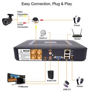 Image 4 - Security camera cctv security system kit video surveillance 2 camera HD 720P/1080P 4ch dvr surveillance Waterproof Night Vision