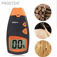0 ~ 99.9% numérique bois humidimètre 4 broches bois de chauffage humidité conductivité détecteur 0.5% précision bois humide testeur capteur