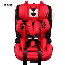 ISOFIX Interface Portable Baby Car Seat Convertible Child Car Safety Seat Baby Booster Seat Five-point Safety Harness Belt ECE