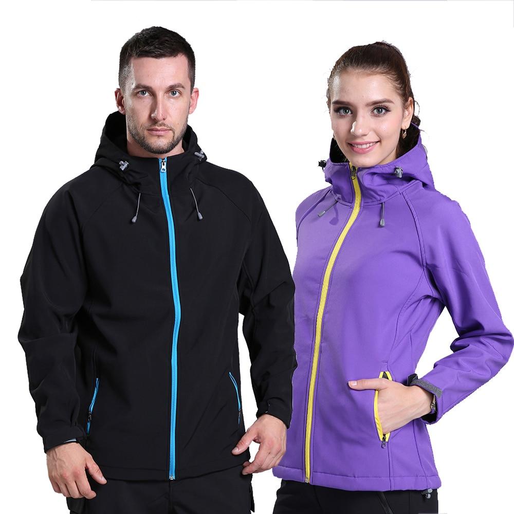 2018 Brand New Spring Mens Women Lovers Windstopper Waterproof Windbreaker Outdoor Sports Softshell Jacket FRH556A