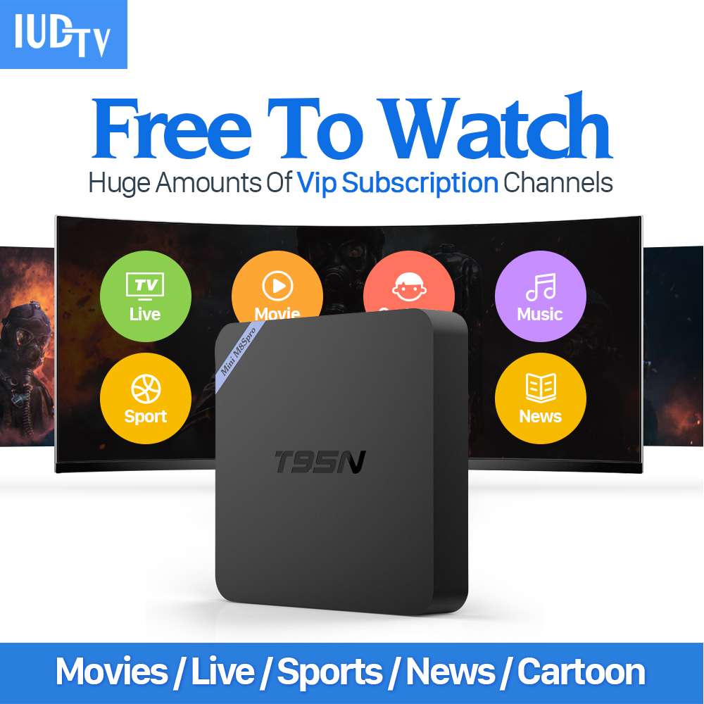 Best IPTV Europe 2GB Android 6.0 Tv Box & 1700 Arabic Italy French Canl Sport IPTV Set-top Box 4K Output S905X Wifi Tv Receiver iptv streaming box leadcool android wifi 1g 8g include 1700 italy portugal french receiver europe arabic channels package