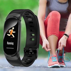 Image 3 - TLXSA Smart Bracelet Fitness Tracker Moniteur de Fréquence Cardiaque Bande À Puce Étanche Podomètre Sport Bracelet Pour Femmes Hommes Smartwatch