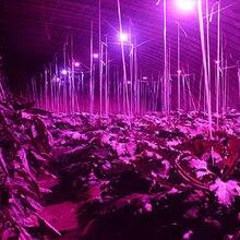 5pcs Led Grow Light Full Spectrum Led Plant Lamp 18 28LEDs E27 15Red+7Blue+4White+1UV+1IR Indoor Greenhouse Hydroponics Grow Box