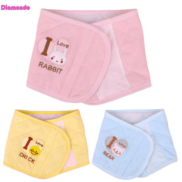 3 Colors Autumn Winter Adjustable Newborn Baby Bellyband Soft Warm Baby Belly Button Protector Band Soft Navel Guard Girth Belt