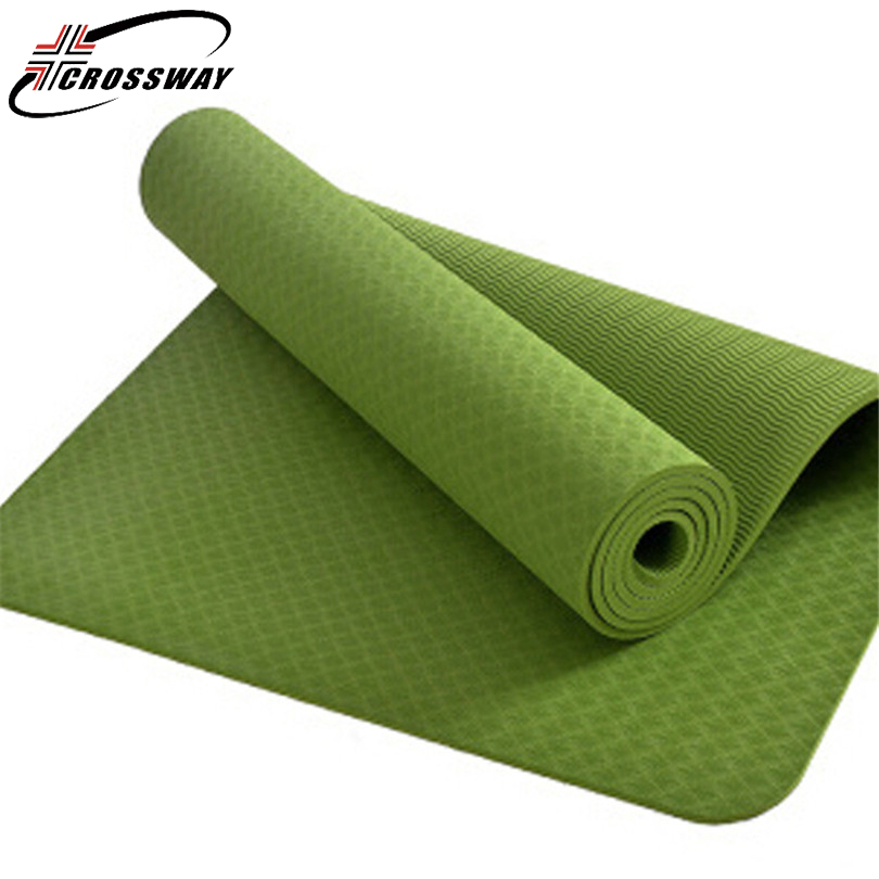 все цены на CROSSWAY 8mm Yoga mat Outdoor sports Picnic Thin Blanket Women Beach health Beach Mandala Yoga Mat Beach fitness training 200 онлайн