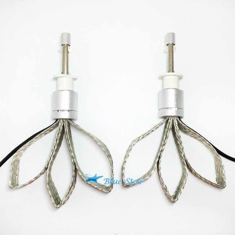 Car Headlight LED 80W 9600LM LED H7 H1 H3 H4 H8 H9 H11 HB4 9006 white 6000K Car LED Headlight Bulb