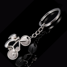 Charm Zinc Alloy Cycling Bicycle Style Key Chain Ring Holder Creative Casual Car Bike Keychain Bag Keyfobs Jewelry Gift J002