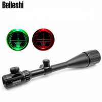 Beileshi Optical Aiming Rifle Telescopic Scope Outdoor Hunting Riflescope 6 24x50 + Adjustable Mounting Bracket