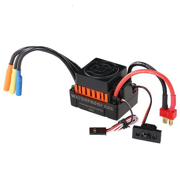 ABWE Best Sale Waterproof F540 3000KV Brushless Motor with 45A ESC Combo Set for 1/10 RC Car Truck abwe 4x a