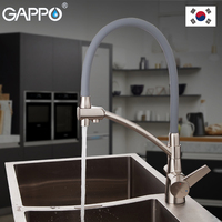 GAPPO Kitchen Faucet kitchen sink faucet tap single faucet kitchen water tap brass water mixer tap stainless steel faucet