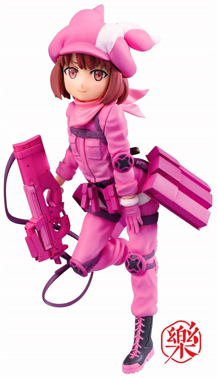 Original Sword Art Online Gun Gale Online Llenn Figure Toys Model