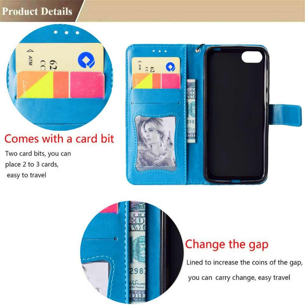 الوجه حقيبة لهاتف سامسونج غالاكسي A3 A5 2016 2017 A6 A7 A8 A9 2018 محفظة من جلد pu حامل للبطاقة فتحات الهاتف حالات ل A8 زائد 2018